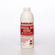 crystal dry extra carpet cleaner