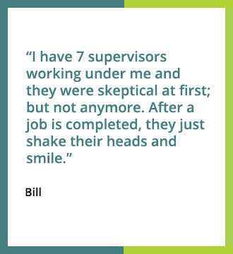 Testimonial for Whittaker Systems Carpet Care
