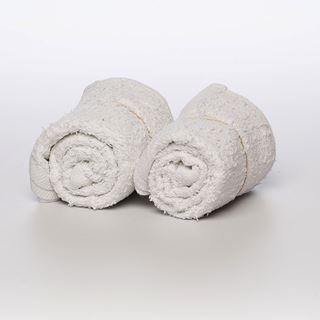 White Terry Towel 17x20 Whittaker System