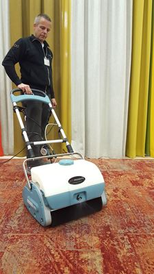 Progenta Wows Customers and Prospects with Whittaker's Carpet Care System