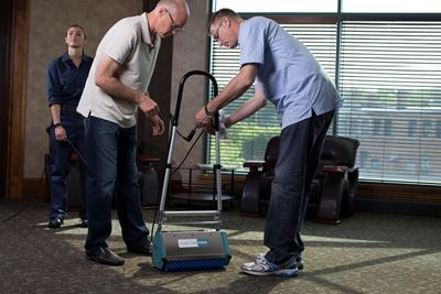Proper Carpet Cleaning Training for Custodial Staff